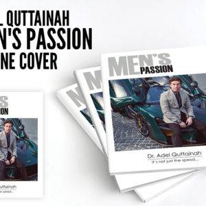 Dr. Adel on Men's Passion Magazine Cover